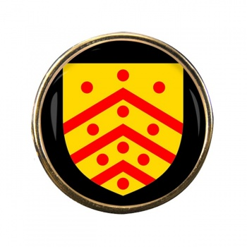 Gloucester (England) Round Pin Badge