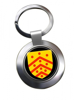 Gloucester (England) Metal Key Ring
