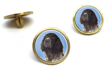 German Longhaired Pointer  Golf Ball Marker Set