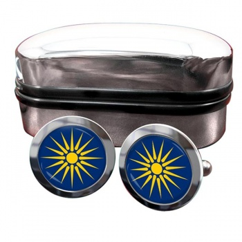 Macedonia (Greece) Crest Cufflinks