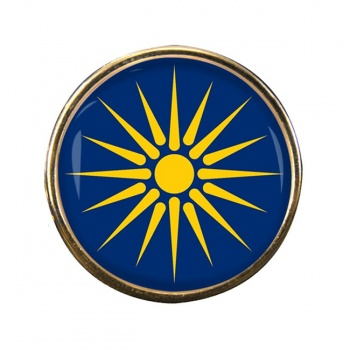 Macedonia (Greece) Round Pin Badge