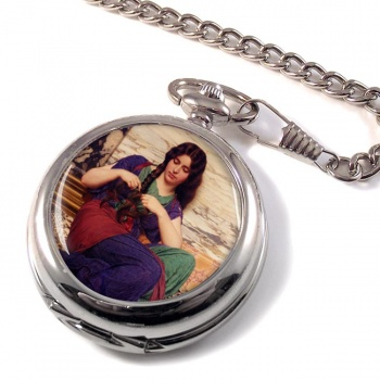 A Congenial Task by Godward Pocket Watch