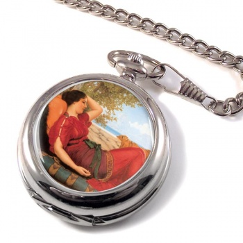 In Realms of Fancy by Godward Pocket Watch