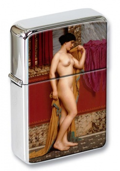 In the Tepidarium by Godward Flip Top Lighter