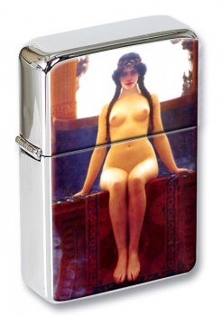 The Delphic Oracle by Godward Flip Top Lighter