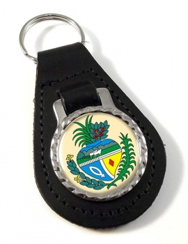 Goias (Brasil) Leather Key Fob