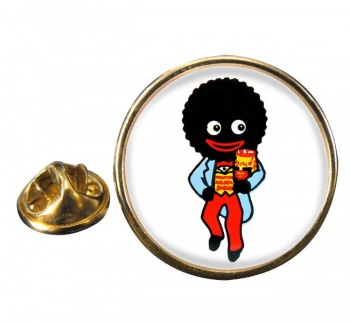 Golliwog Round Pin Badge
