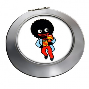 Golliwog Chrome Mirror