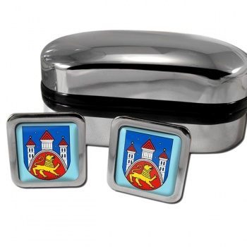 Gottingen Germany Square Cufflinks