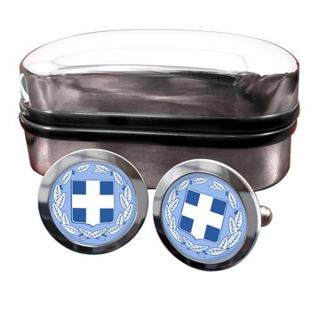 Greece Crest Cufflinks