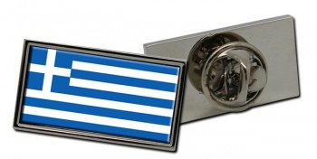 Greece Flag Pin Badge