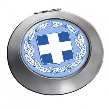 Greece Round Mirror