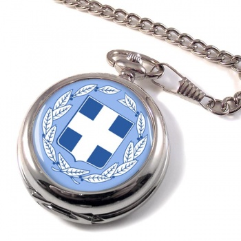 Greece Ελλα�δα Pocket Watch