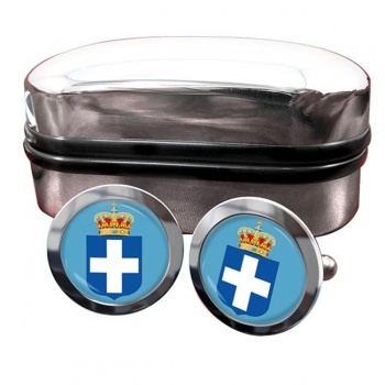 Kingdom of Greece  Crest Cufflinks