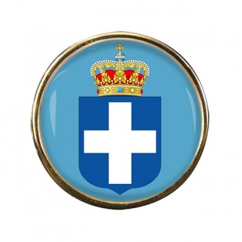 Kingdom of Greece Round Pin Badge