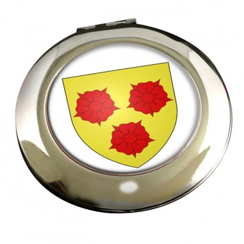 Grenoble (France) Round Mirror