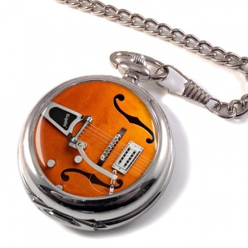 Gretsch Guitar Pocket Watch