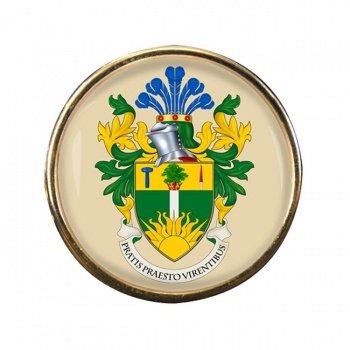 East Grinstead (England) Round Pin Badge