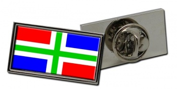 Groningen (Netherlands) Flag Pin Badge