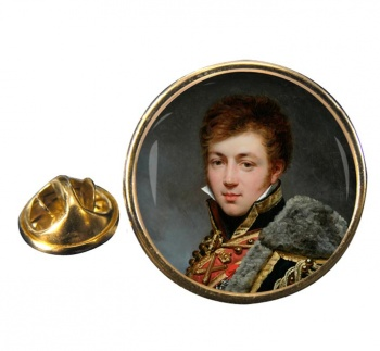 Honore� de La Riboisière by Antoine Jean Gros Pin Badge