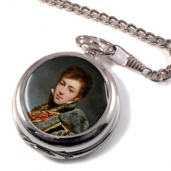 Honore� de La Riboisière by Antoine Jean Gros Pocket Watch