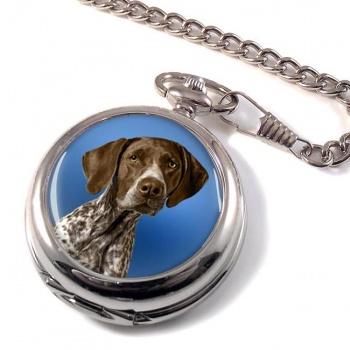 German Shorthaired Pointer Pocket Watch