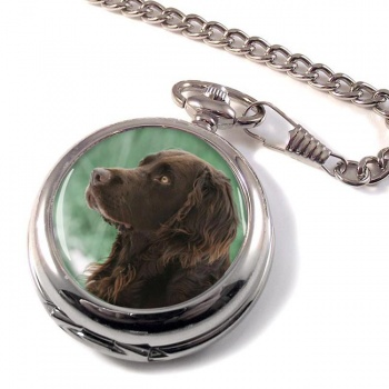Deutscher Wachtelhund Pocket Watch