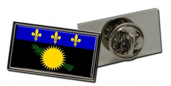 Guadeloupe Flag Pin Badge