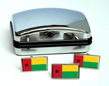 Guinea-Bissau Guine-Bissau Flag Cufflink and Tie Pin Set