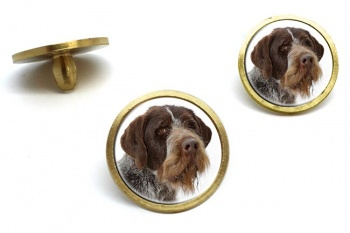 German Wirehaired Pointer  Golf Ball Marker Set