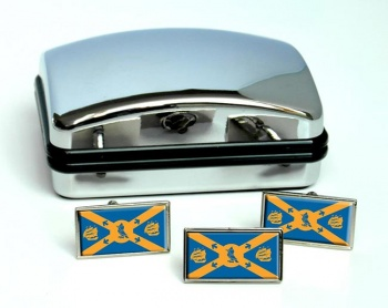 Halifax (Canada) Flag Cufflink and Tie Pin Set