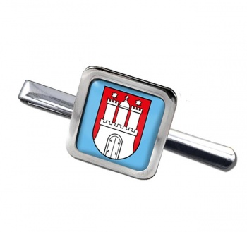 Hamburg (Germany) Square Tie Clip