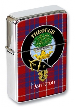 Hamilton Scottish Clan Flip Top Lighter