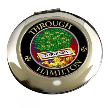 Hamilton Scottish Clan Chrome Mirror