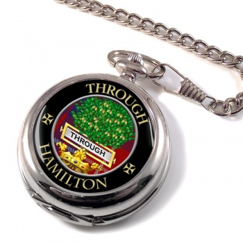 Hamilton Scottish Clan Pocket Watch