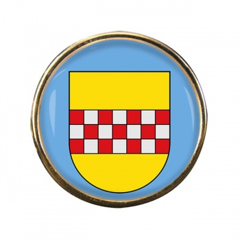 Hamm (Germany) Round Pin Badge