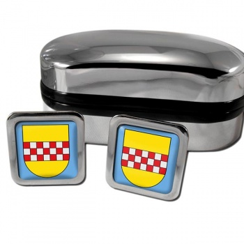 Hamm Germany Square Cufflinks