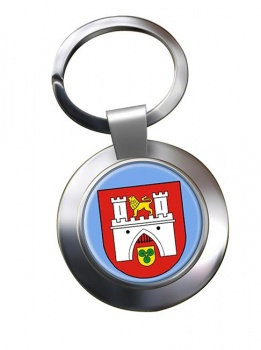 Hannover (Germany) Metal Key Ring