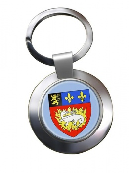 Le Havre (France) Metal Key Ring