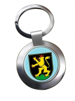 Heidelberg (Germany) Metal Key Ring