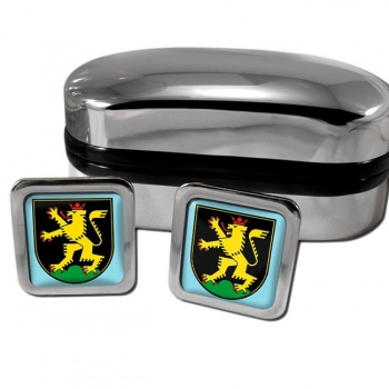 Heidelberg Germany Square Cufflinks
