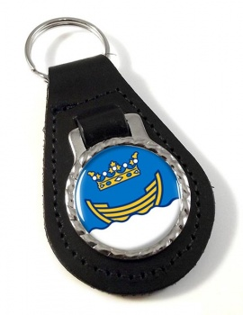 Helsinki Leather Key Fob