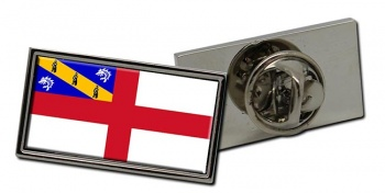 Herm Flag Pin Badge