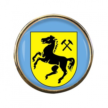 Herne (Germany) Round Pin Badge