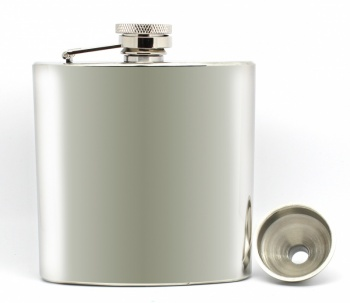 Personalised/Engraved Hip Flask with Gift Box