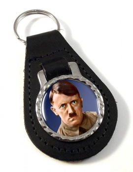 Adolf Hitler Leather Key Fob