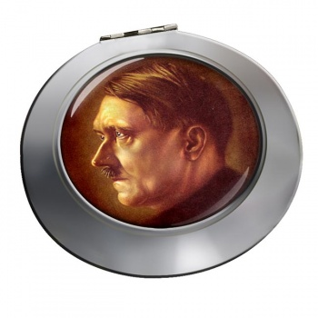 Adolf Hitler Profile Chrome Mirror
