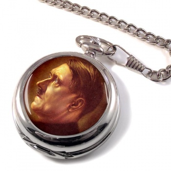 Adolf Hitler Profile Pocket Watch