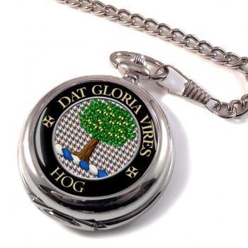 Hog Scottish Clan Pocket Watch