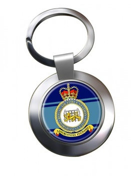 Horsham St Faith Chrome Key Ring